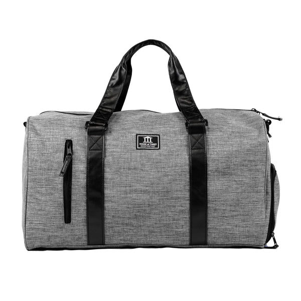 House of Three Duffel Bag Grey