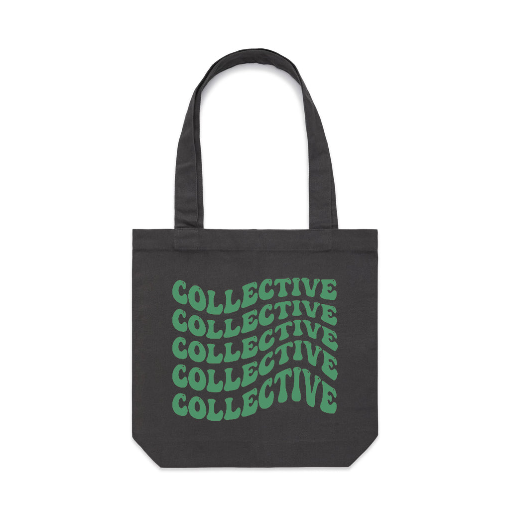 Collective 4/20 Green & Coal Tote Bag