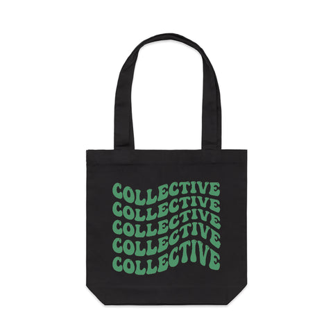 Collective 4/20 Green & Black Tote Bag