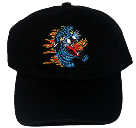 Lift Off Supply Burning Panther Dad Hat