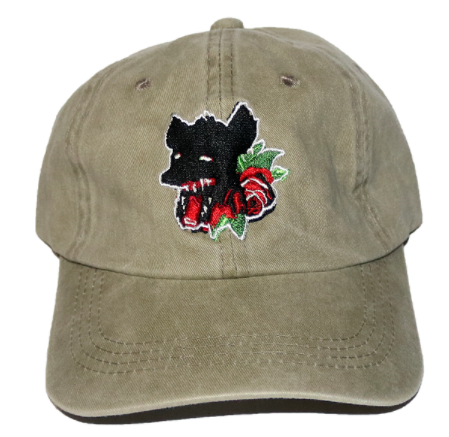 Lift Off Supply Rose Hyena Dad Hat