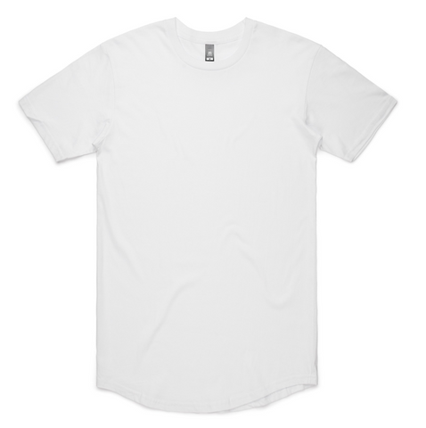 Ascolour Elongated White Tee