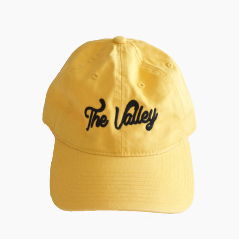 The Valley Dad Hat in Yellow/Black