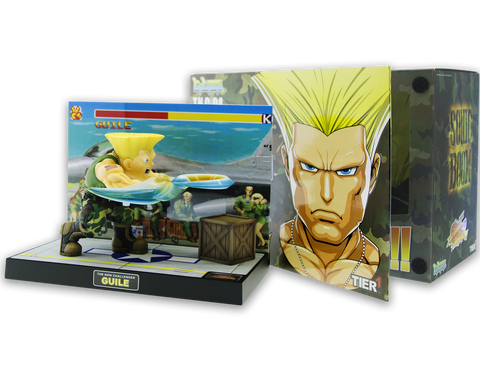 Tier 1 Guile Chibi Street Fighter with Box