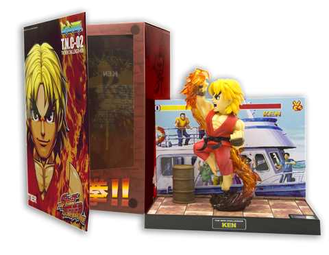 Tier 1 Ken Chibi Street Fighter With Box