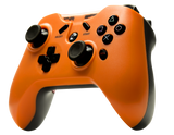 Tier 1 PS3 Controller - Hazard Orange Side