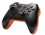 Tier 1 PS3 Controller - Reaper Black Side