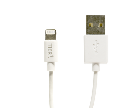 TIER1 3 Meter Charge & Sync Lightning Cable