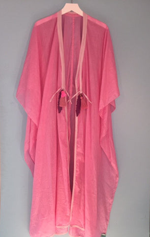 Pink voile/French Riviera