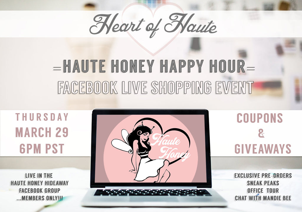 Haute Honey Happy Hour is BACK!!!