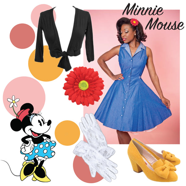 Minnie Mouse Disneybound Idea!