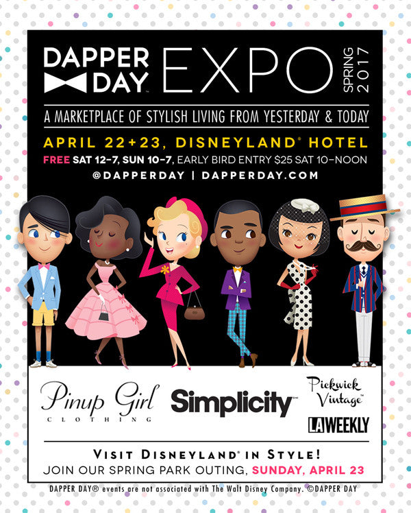 Shop Heart of Haute at the Dapper Day Expo!!
