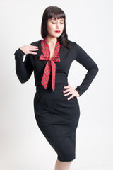Dapper Cropped Blazer - Black - Heart of Haute