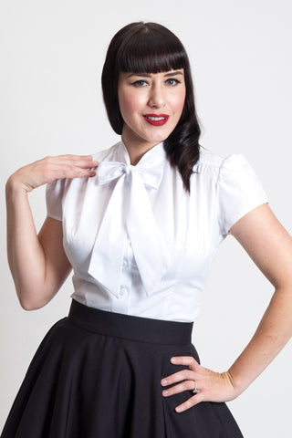1950s Rockabilly & Pin Up Tops, Blouses, Shirts Blouses  AT vintagedancer.com