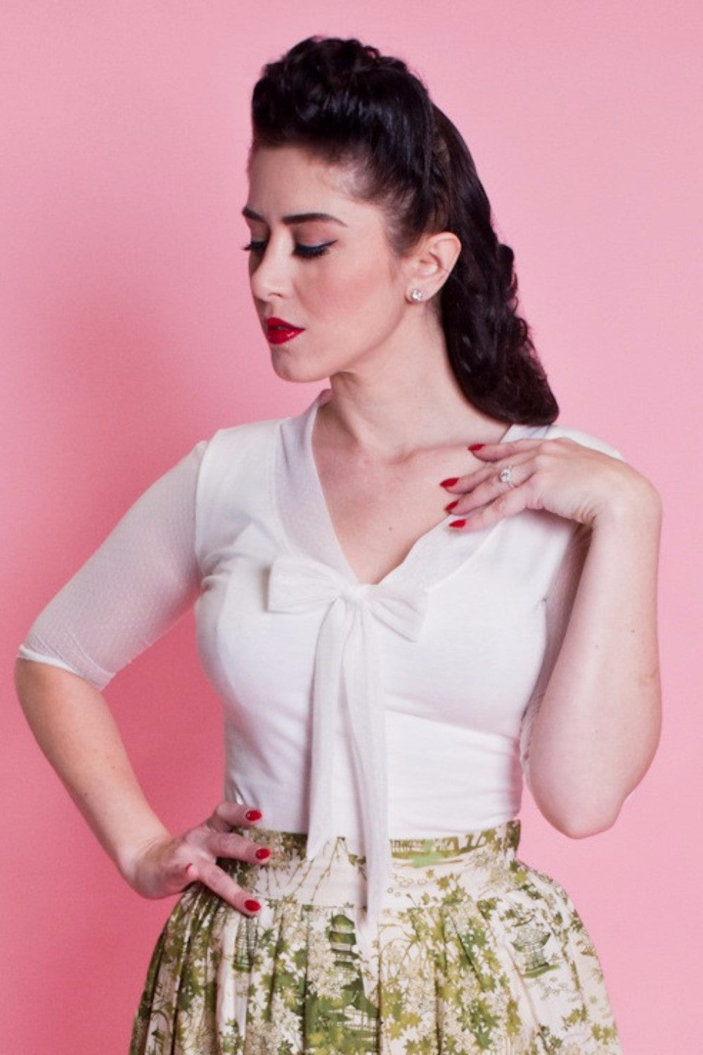 Inspiration Top - Ivory - Heart of Haute