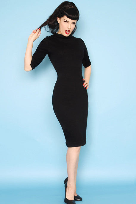 Super Spy Dress - Black - Heart of Haute  - 1