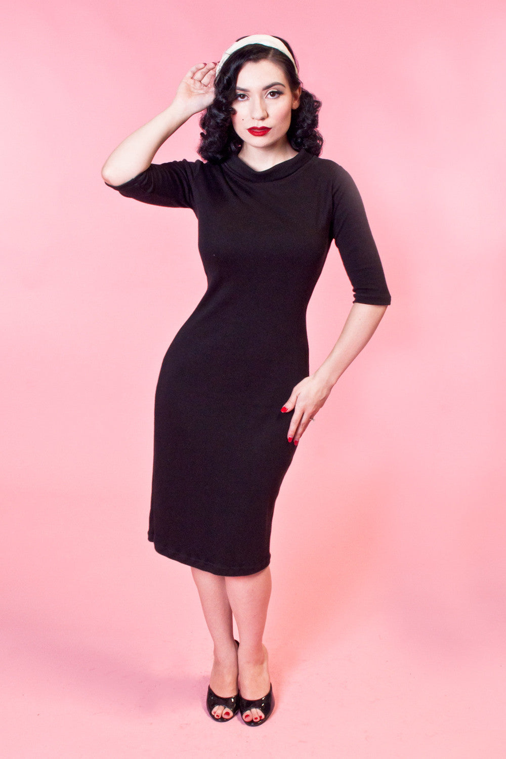 Super Spy Dress - Black - Heart of Haute