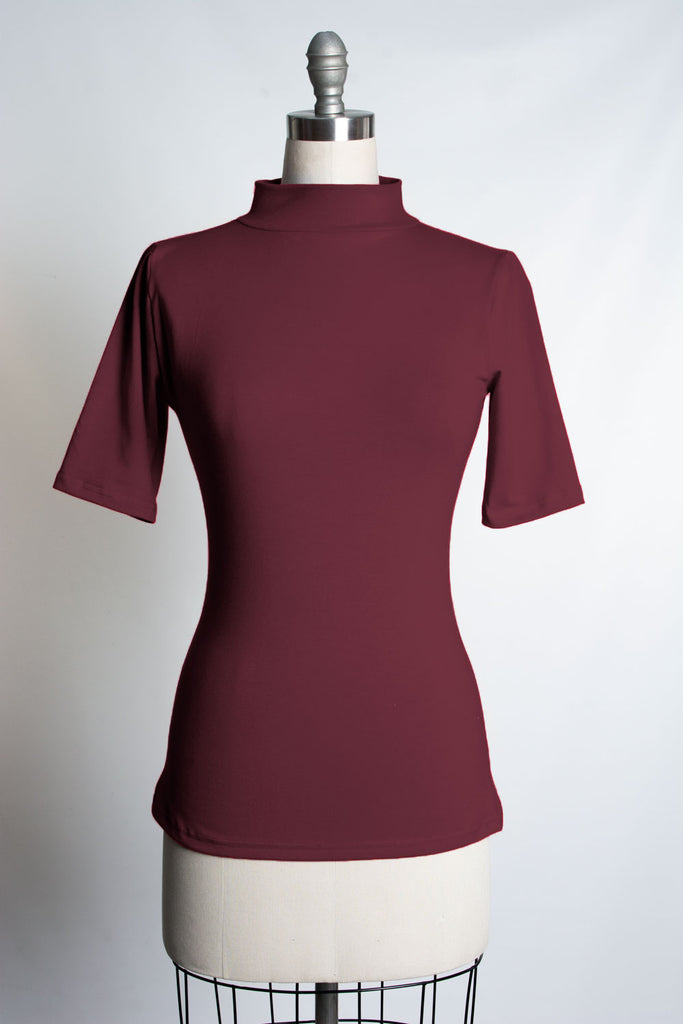 Denise Top - Burgundy