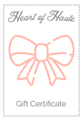 Heart of Haute Gift Card
