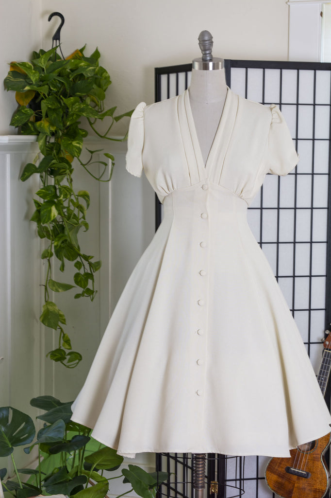 Manhattan Dress - Ivory