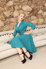 Monte Carlo Dress - Lake - Heart of Haute  - 3