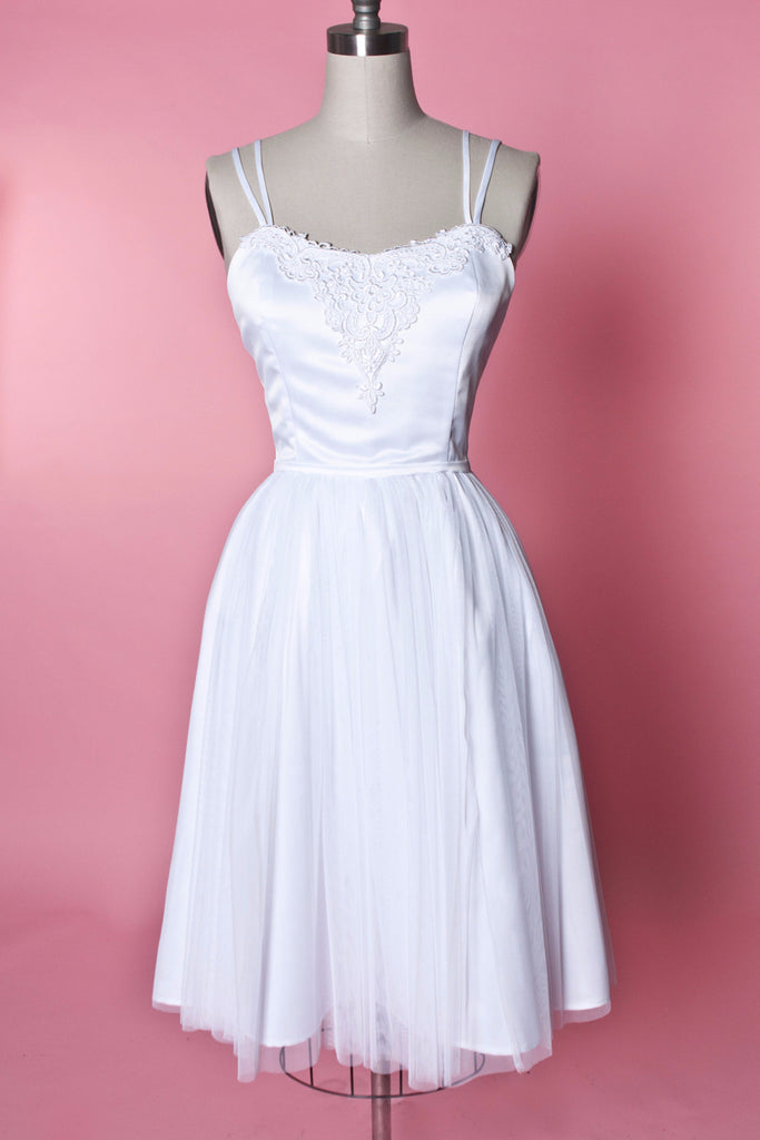 Weddings - Pirouette Dress - White Tulle - Heart of Haute