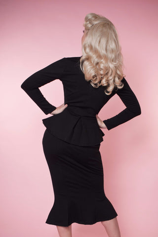 Diva Skirt - Black - Heart of Haute  - 2