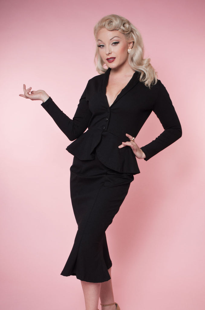 Diva Jacket - Black - Heart of Haute
