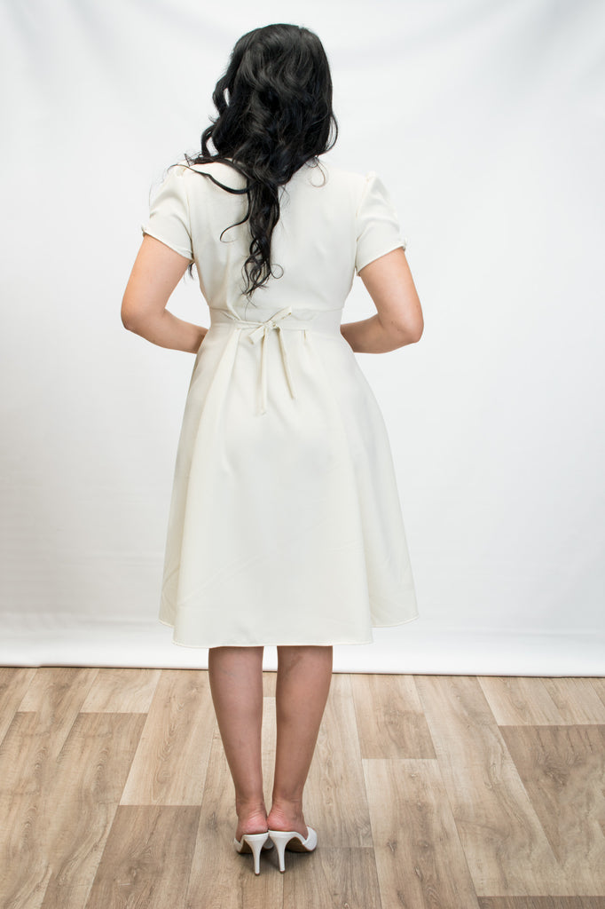 Manhattan Dress - Ivory - Heart of Haute