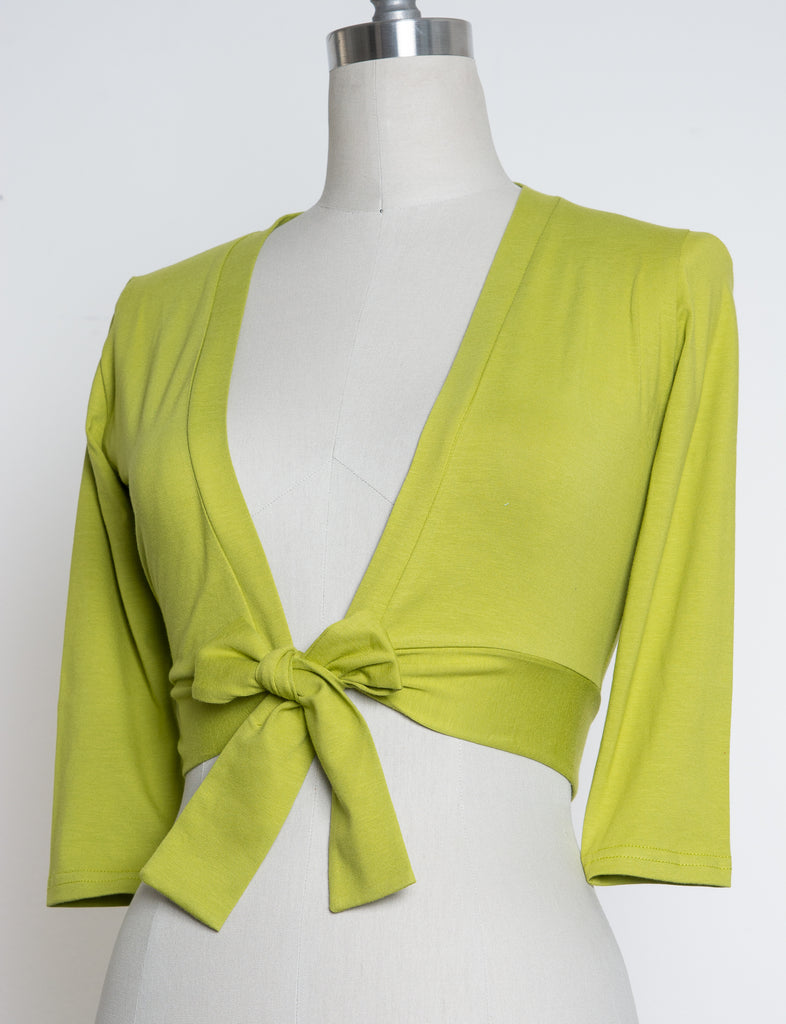 Sweet Sweater - Lime - Heart of Haute