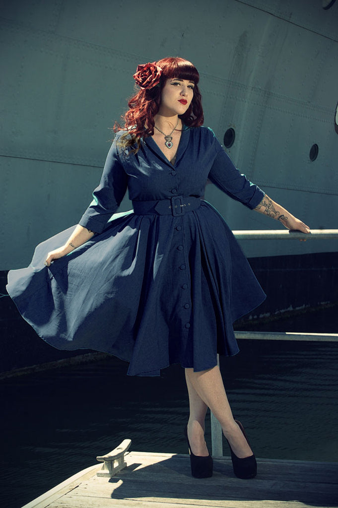 Monte Carlo Dress - Jet Setter Navy
