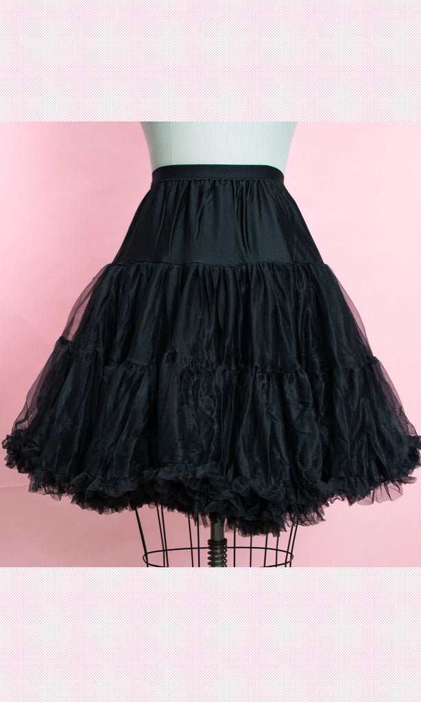Slip Petticoat- Black - Heart of Haute