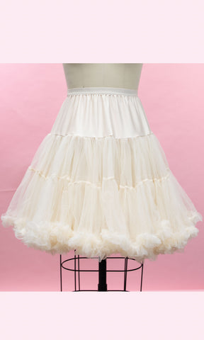 Petticoat- Ivory - Heart of Haute