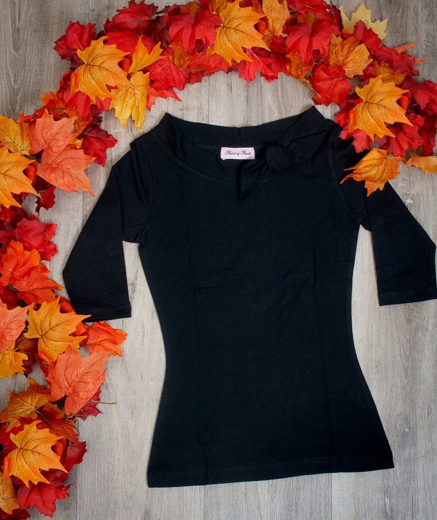 Lily Top - Black