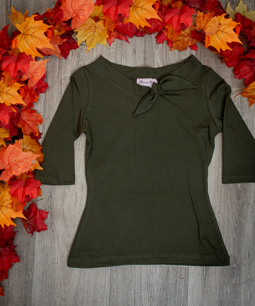 Lily Top - Olive