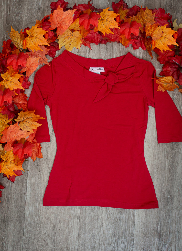 Lily Top - Red