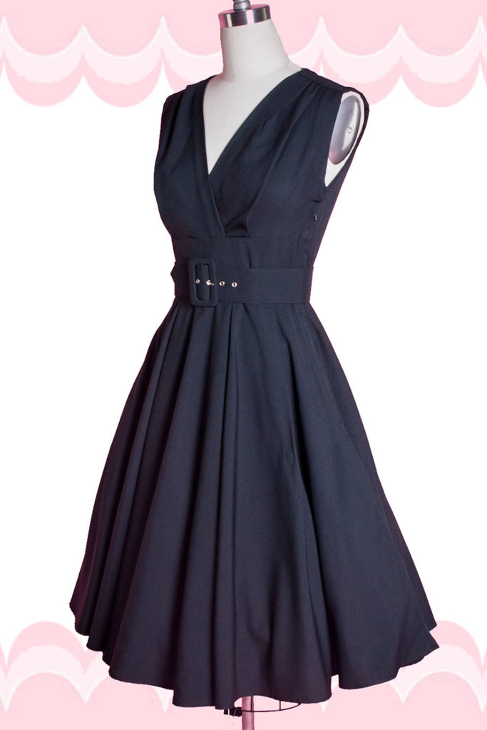 Milan Dress - Jet Setter Black - Heart of Haute