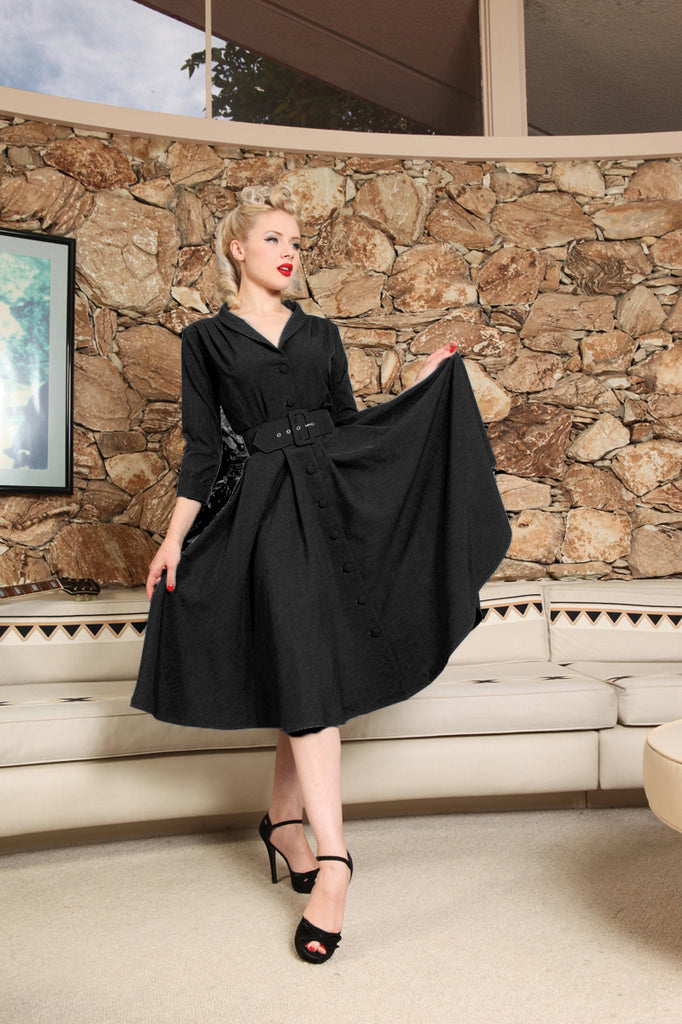 Monte Carlo Dress - Jet Setter Black