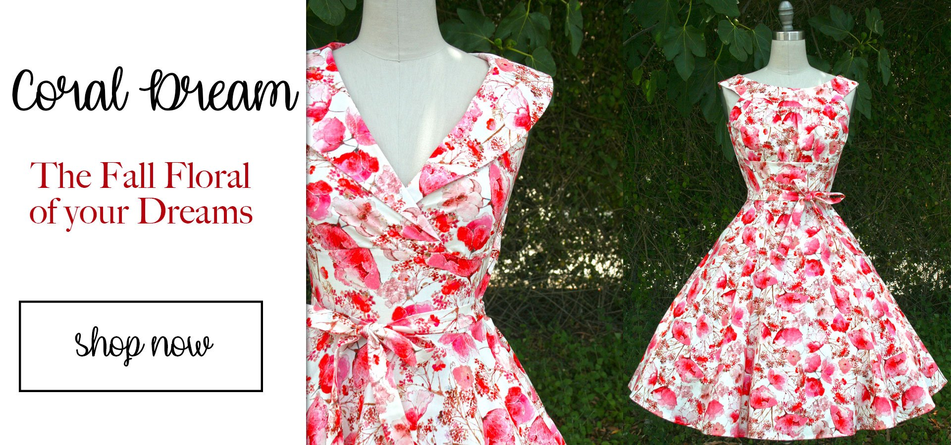 Southern California Belle SPring is here! roll out the floral dresses. read review of heart of haute's marie dress
