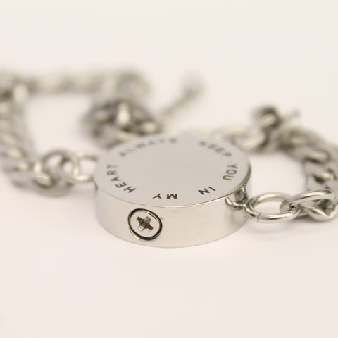 Ash Keeper - Pulsera Always Keep you in My Heart
