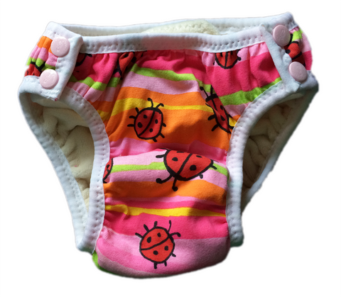 EC Pants: XL, non-waterproof Ladybugs
