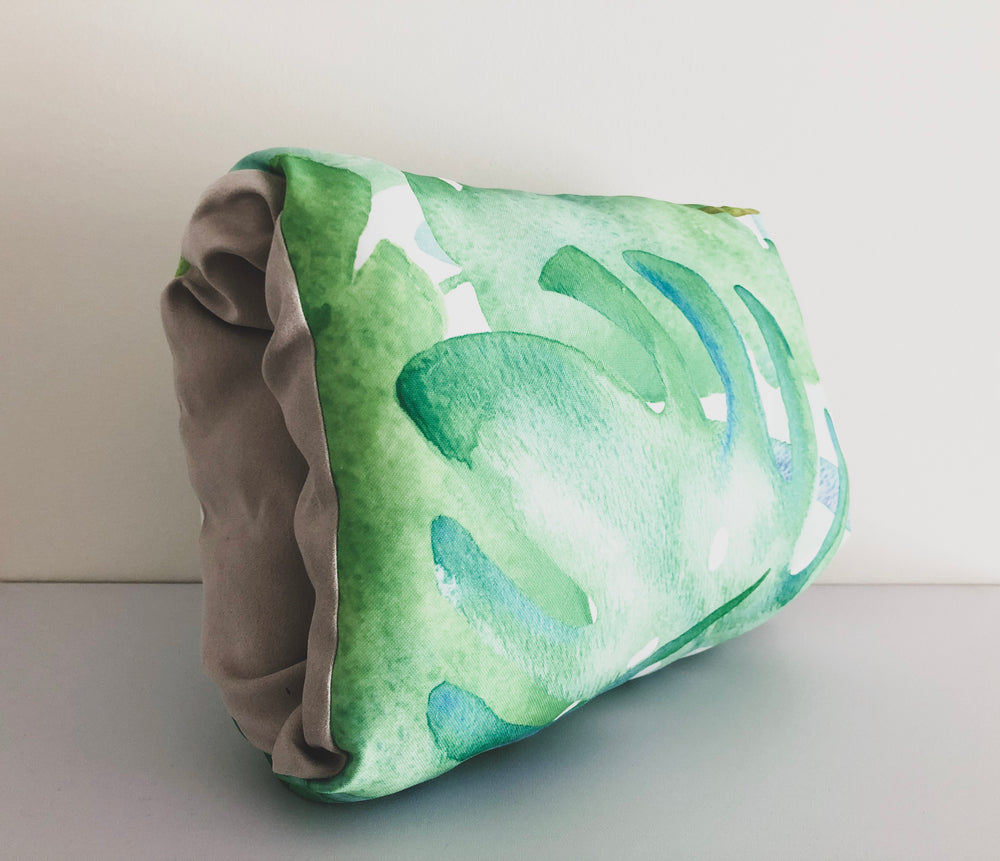 Tropical Watercolor Nursing Pillow