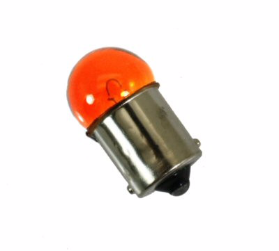 Light Bulb - Turn Signal Blinker Bulb - Amber 12V 10W for WOLF JET 50 > Part # 100GRS121