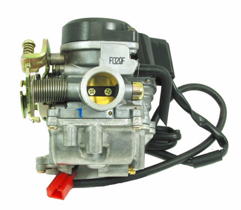 Carburetor, Type-2 4-stroke QMB139 50cc for WOLF JET 50 > Part #151GRS222