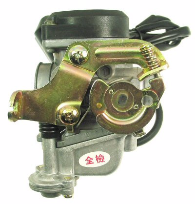Carburetor - QMB139 50cc 4-stroke Carburetor, Type-1 for BINTELLI SPRINT 50 > Part #151GRS29
