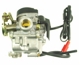 Carburetor - QMB139 50cc 4-stroke Carburetor, Type-1 for WOLF LUCKY 50 > Part #151GRS29