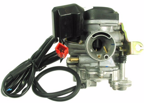 Carburetor - QMB139 50cc 4-stroke Carburetor, Type-1 for WOLF RX50 > Part #151GRS29