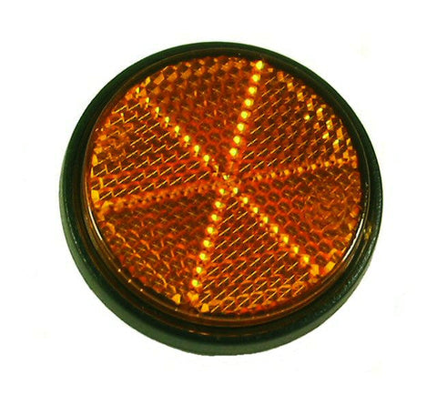Scooter/Moped Reflector, Amber > Part #138GRS20