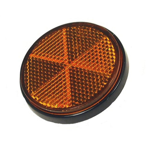 Reflector Round, Amber > Part #138GRS22
