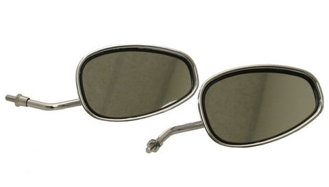 Mirror - Scooter Chrome Mirror Set - 8mm or 10mm > Part#108GRS60
